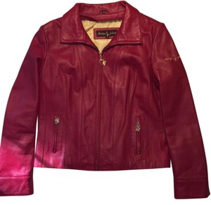 Baby Phat Red Leather Jacket