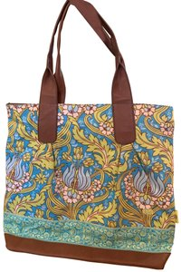 Amy Butler Kalencom Leather Tote Satchel in Multi-colored