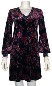 1.STATE short dress Multicolor Polyester on Tradesy