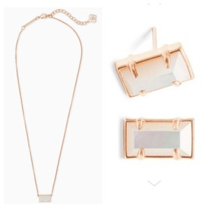 Kendra Scott Set necklace and earrings