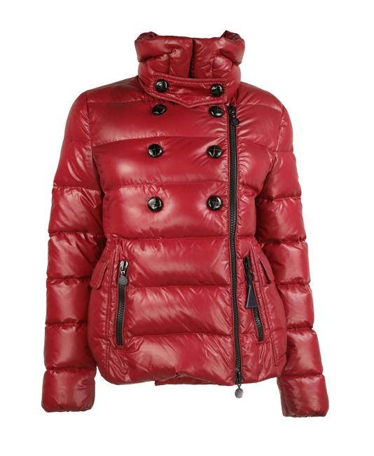Item - Red Daim Double Breasted Down Coat Size 8 (M)