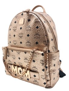 MCM Trilogie 3 In Logo Visetos Limited Edition Backpack