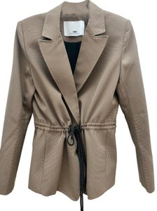 Camilla and Marc Neutral Jacket Brown / Black Blazer