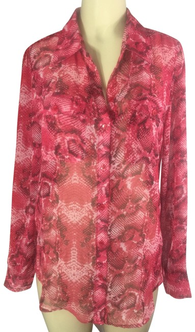 Preload https://img-static.tradesy.com/item/26039279/neiman-marcus-red-sexy-python-sheer-print-shirt-blouse-button-down-top-size-10-m-0-5-650-650.jpg