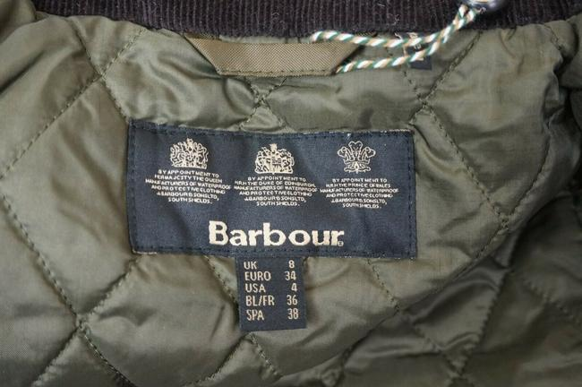 Barbour Trench Coat Image 3