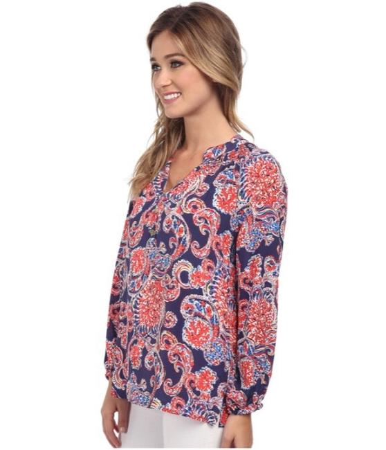 Lilly Pulitzer Top blue / red Image 2