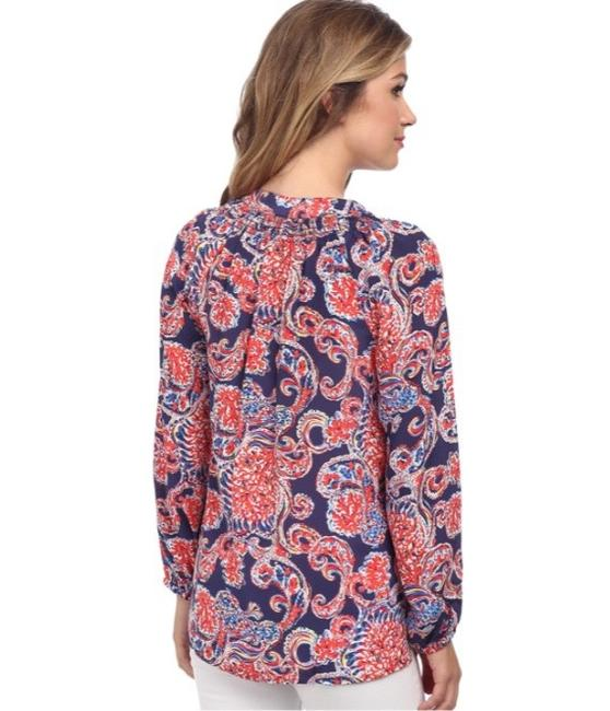 Lilly Pulitzer Top blue / red Image 3