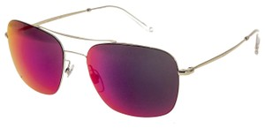 Gucci Square Aviator Techno Color GG0503S Gold Iridium Mirrored 2262
