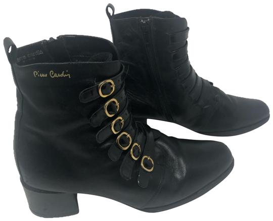 Preload https://img-static.tradesy.com/item/26039415/pierre-cardin-black-leather-with-gold-buckle-bootsbooties-size-eu-39-approx-us-9-regular-m-b-0-4-540-540.jpg