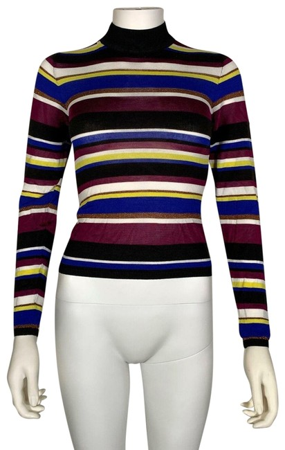 Preload https://img-static.tradesy.com/item/26039450/rachel-roy-xs-royal-cutout-stripes-multicolor-sweater-0-4-650-650.jpg