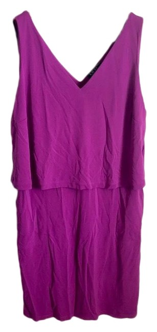 Preload https://img-static.tradesy.com/item/26039465/lauren-ralph-lauren-purple-tiered-mid-length-short-casual-dress-size-24-plus-2x-0-4-650-650.jpg