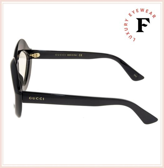 Gucci GUCCI 0085 Black Clear Lips Fashion Runway GG0085S RX OPTICAL Image 1