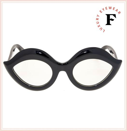 Gucci GUCCI 0085 Black Clear Lips Fashion Runway GG0085S RX OPTICAL Image 2