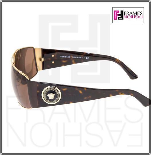Versace VERSACE Square Wrap VE2163 Tortoise Brown Gold Mirrored 2163 Image 3