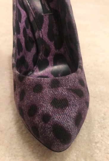 Dolce&Gabbana Purple Leopard Pumps Image 10