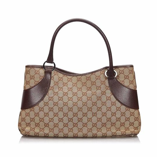 Preload https://img-static.tradesy.com/item/26039546/gucci-bag-w-beige-fabric-gg-italy-dust-large-brown-canvas-leather-tote-0-0-540-540.jpg