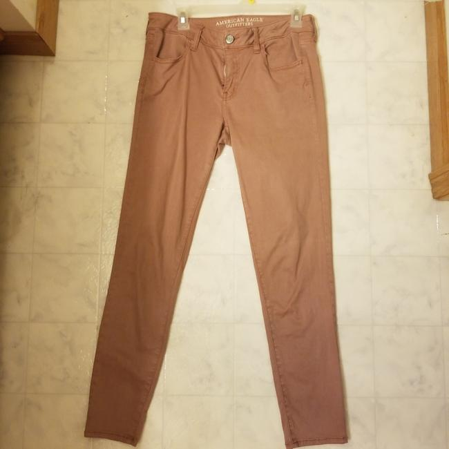 Preload https://item4.tradesy.com/images/american-eagle-outfitters-pink-salmon-jeggings-size-33-10-m-26039558-0-0.jpg?width=400&height=650