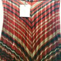 Zara Skirt Red Gold Black Image 2