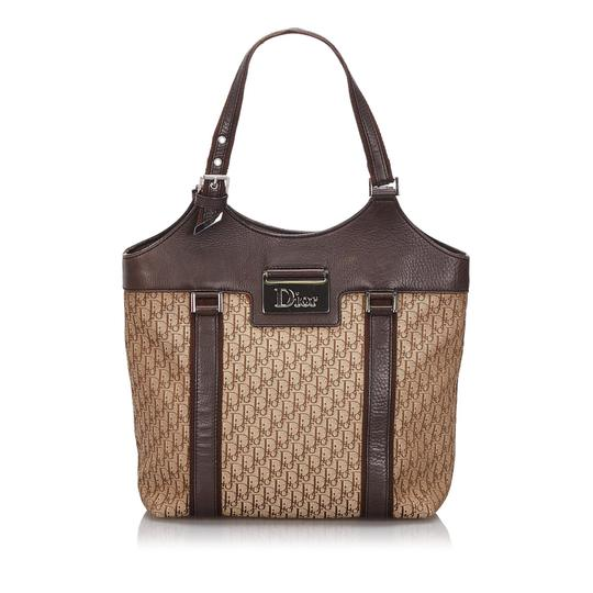 Preload https://img-static.tradesy.com/item/26039581/dior-bag-w-oblique-france-dust-large-brown-canvas-leather-tote-0-0-540-540.jpg