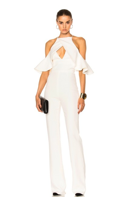 Preload https://img-static.tradesy.com/item/26039591/david-koma-white-shoulder-ruffle-cut-out-romperjumpsuit-0-0-650-650.jpg