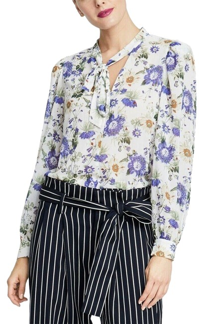 Preload https://img-static.tradesy.com/item/26039609/rachel-roy-multicolor-gail-white-floral-new-blouse-size-4-s-0-2-650-650.jpg