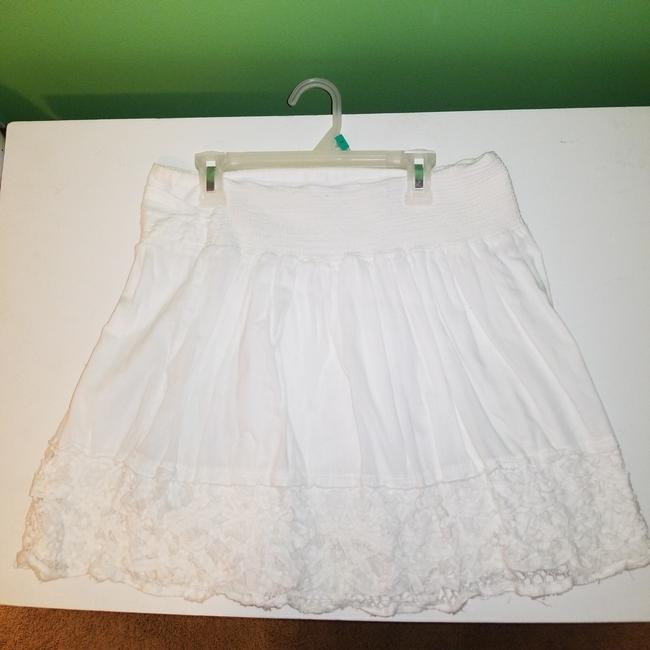 American Eagle Outfitters Mini Skirt White Image 1