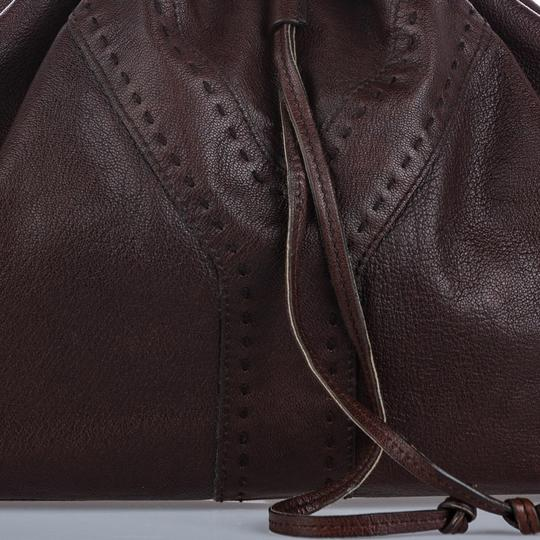 Saint Laurent 9gysto001 Vintage Ysl Leather Tote in Brown Image 7