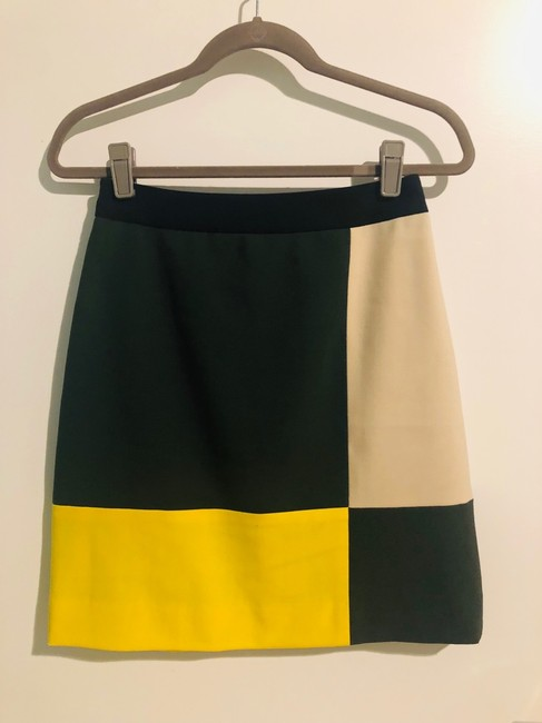 Kate Spade Skirt green, yellow, beige, black Image 2