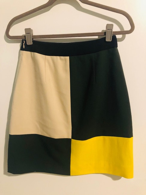 Kate Spade Skirt green, yellow, beige, black Image 3