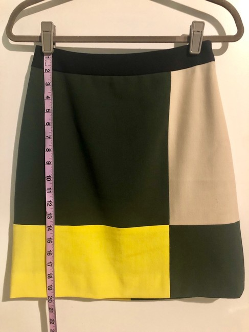 Kate Spade Skirt green, yellow, beige, black Image 4