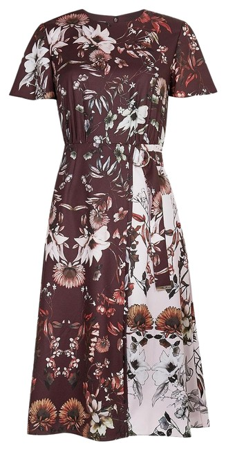 Preload https://img-static.tradesy.com/item/26039670/ted-baker-oxblood-amethyst-color-blocked-floral-mid-length-workoffice-dress-size-6-s-0-2-650-650.jpg