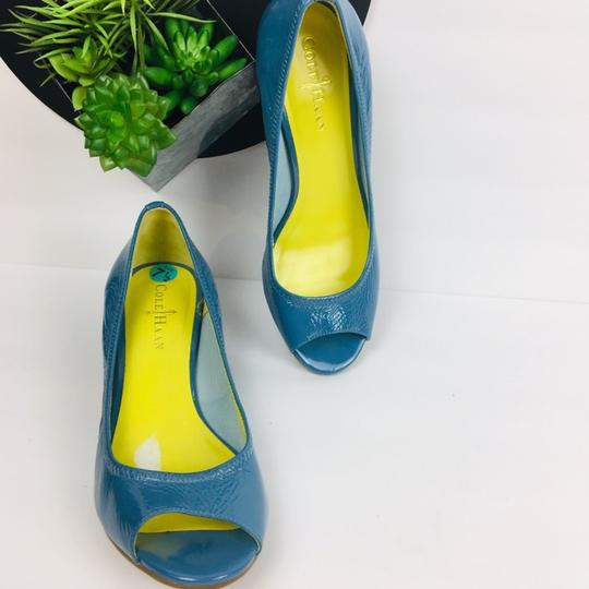 Cole Haan Blue Wedges Image 1