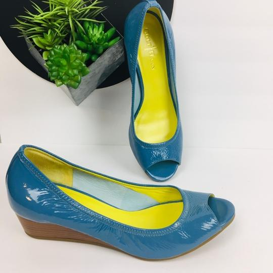 Cole Haan Blue Wedges Image 2