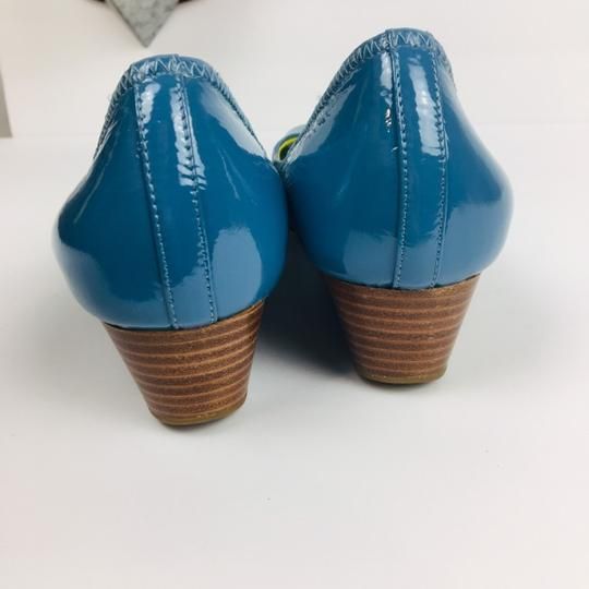 Cole Haan Blue Wedges Image 4