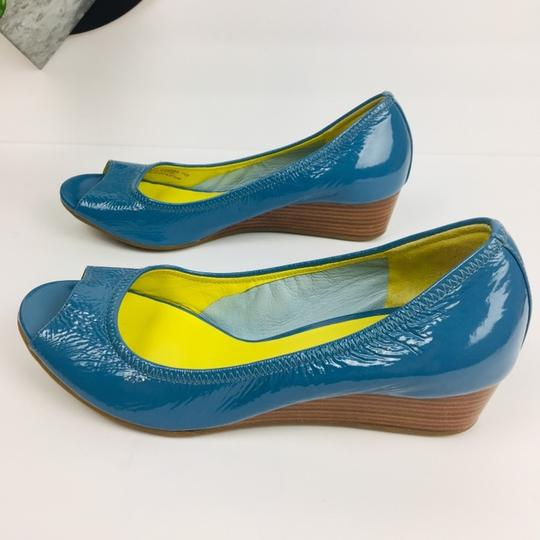 Cole Haan Blue Wedges Image 5