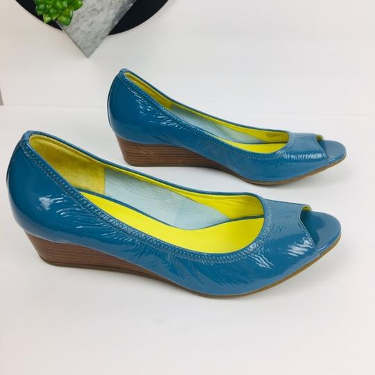 Cole Haan Blue Wedges Image 6