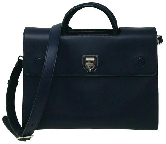 Preload https://img-static.tradesy.com/item/26039712/dior-diorever-large-book-with-strap-navy-calfskin-leather-tote-0-2-540-540.jpg