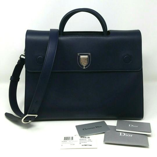 Dior Diorever Calfskin Large Book Tote in Navy Image 1