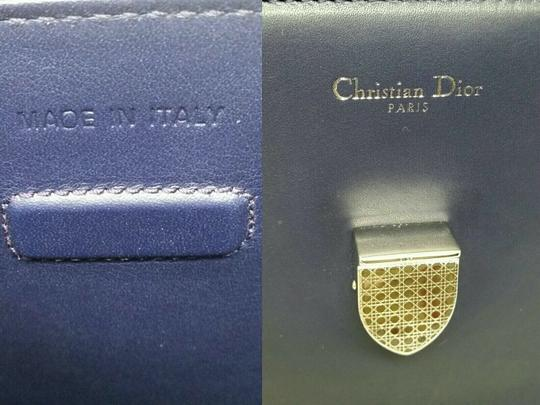 Dior Diorever Calfskin Large Book Tote in Navy Image 11