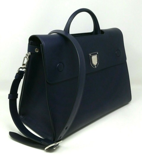 Dior Diorever Calfskin Large Book Tote in Navy Image 2