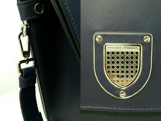 Dior Diorever Calfskin Large Book Tote in Navy Image 4