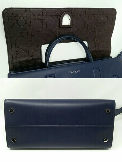 Dior Diorever Calfskin Large Book Tote in Navy Image 9