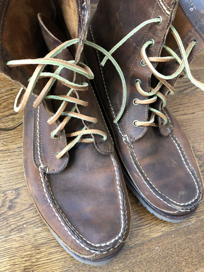 Red Wing Brown Boots Image 1