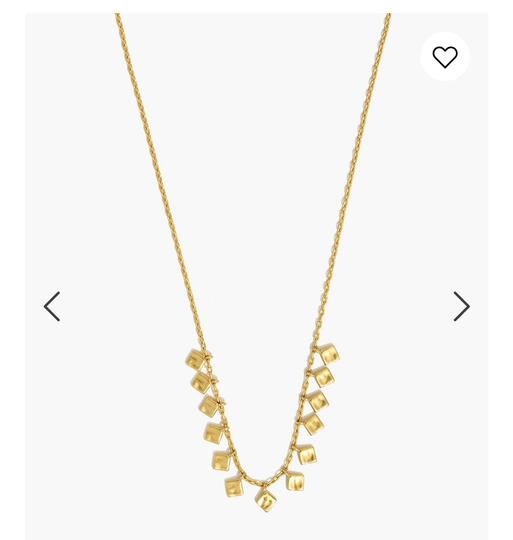 Madewell madewell Hammered charm necklace Image 1