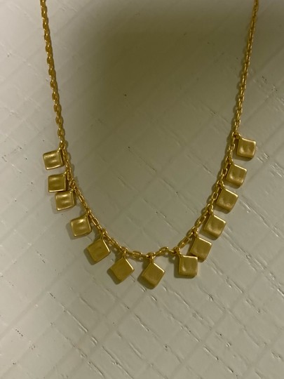 Madewell madewell Hammered charm necklace Image 6
