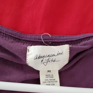 Abercrombie & Fitch Top Purple