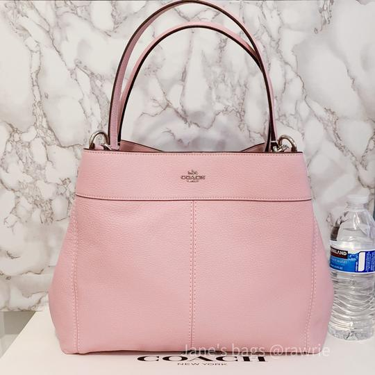 Coach Lexy Pebbled Soft F28997 Slouchy Shoulder Bag Image 1