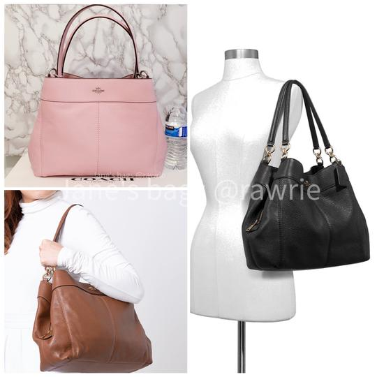 Coach Lexy Pebbled Soft F28997 Slouchy Shoulder Bag Image 2