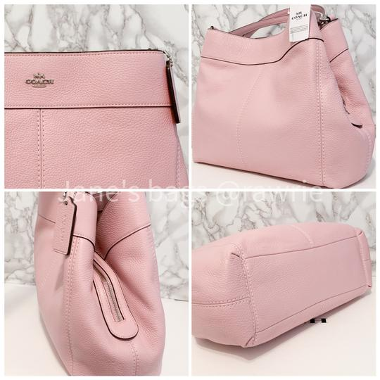 Coach Lexy Pebbled Soft F28997 Slouchy Shoulder Bag Image 3