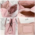 Coach Lexy Pebbled Soft F28997 Slouchy Shoulder Bag Image 4